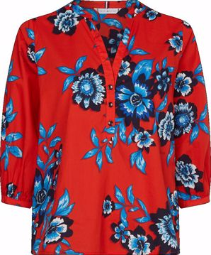 THW Voile Floral Top