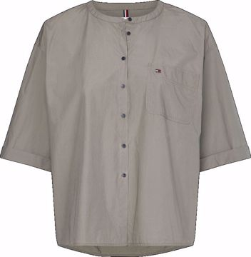THW Crisp Poplin S/S Skjorte