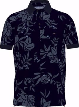 THM Patchw.Flower-R Polo