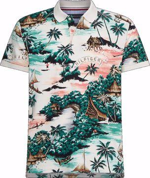 THM AOP Hawaiian-R Polo