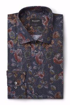 Sand 8858 Iver Slim Fit Skjorte